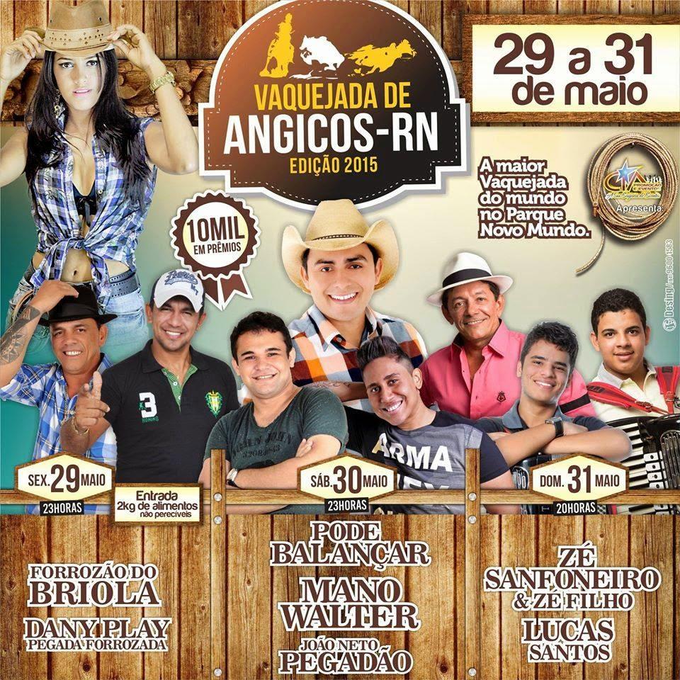 Vaquejada de Angicos 2015