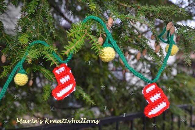 Weihnachtsdeko häkeln
