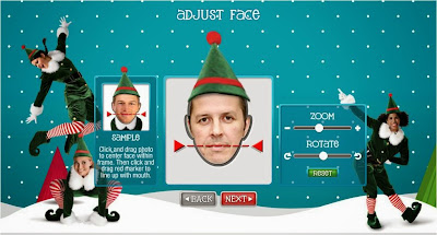 ElfYourself 2013 adjust face