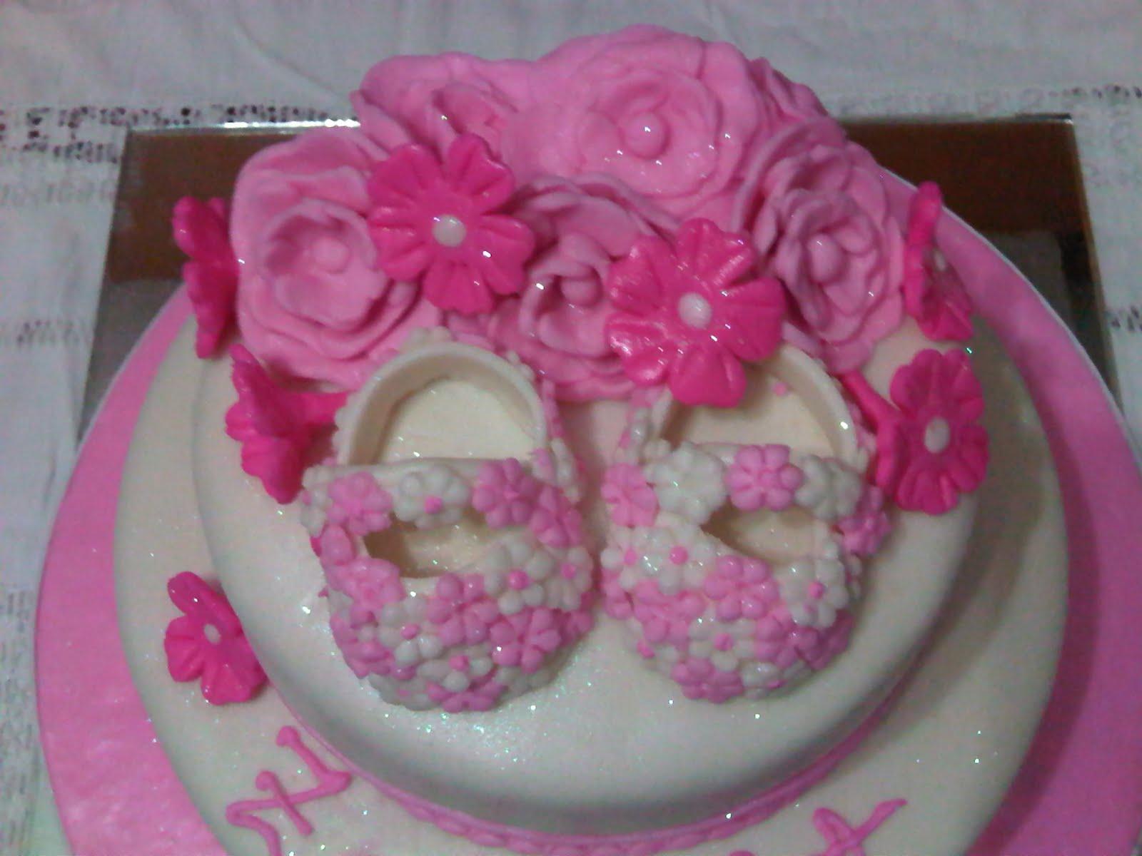 LAS TORTAS DE ARA: Torta de Bautizo para niña
