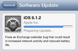 Perbaiki Bug, Apple Rilis Update iOS 6.1.2