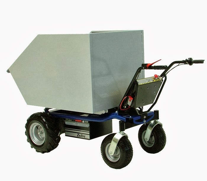 Motorised Trolley Zallys Made In Italy Quality Electric