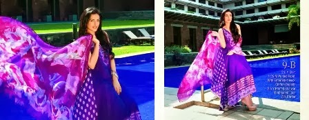 Purple Lawn Shirts Collection 2014