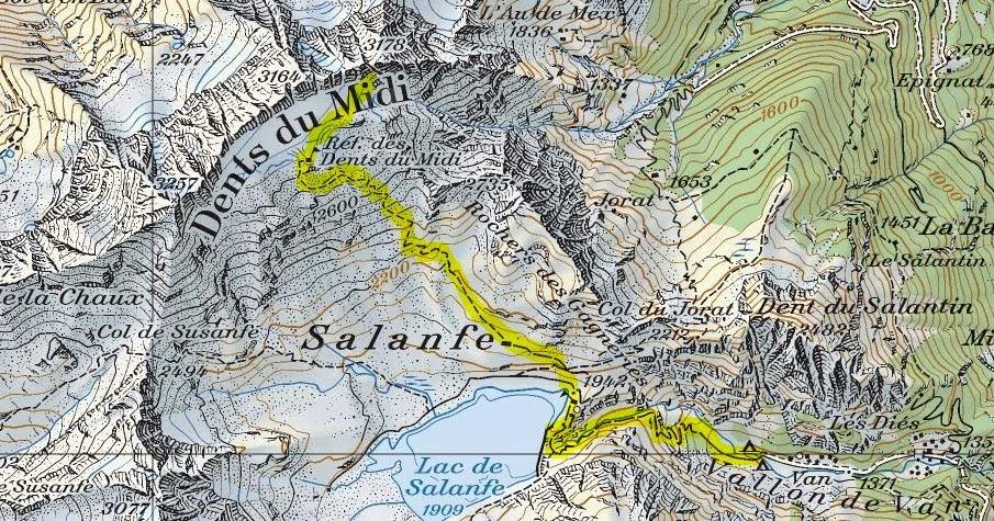 La rimaye lamour des montagnes Dents du Midi  Cime de
