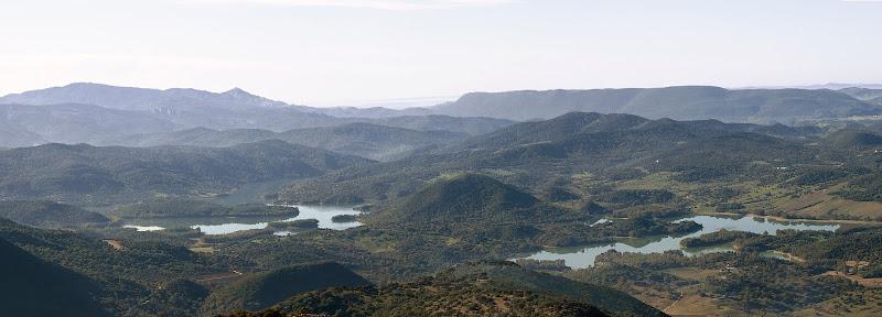 Embalse de Los Hurones desde el Albarracín