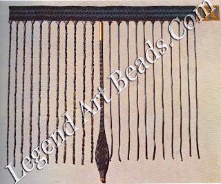 Bead belt and apron of Seneb-tisi, from Lisht