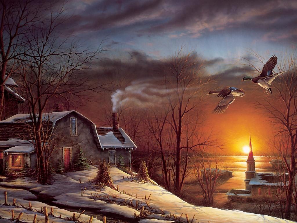 Terry redlin art desktop wallpapers - Art wallpaper pictures ...