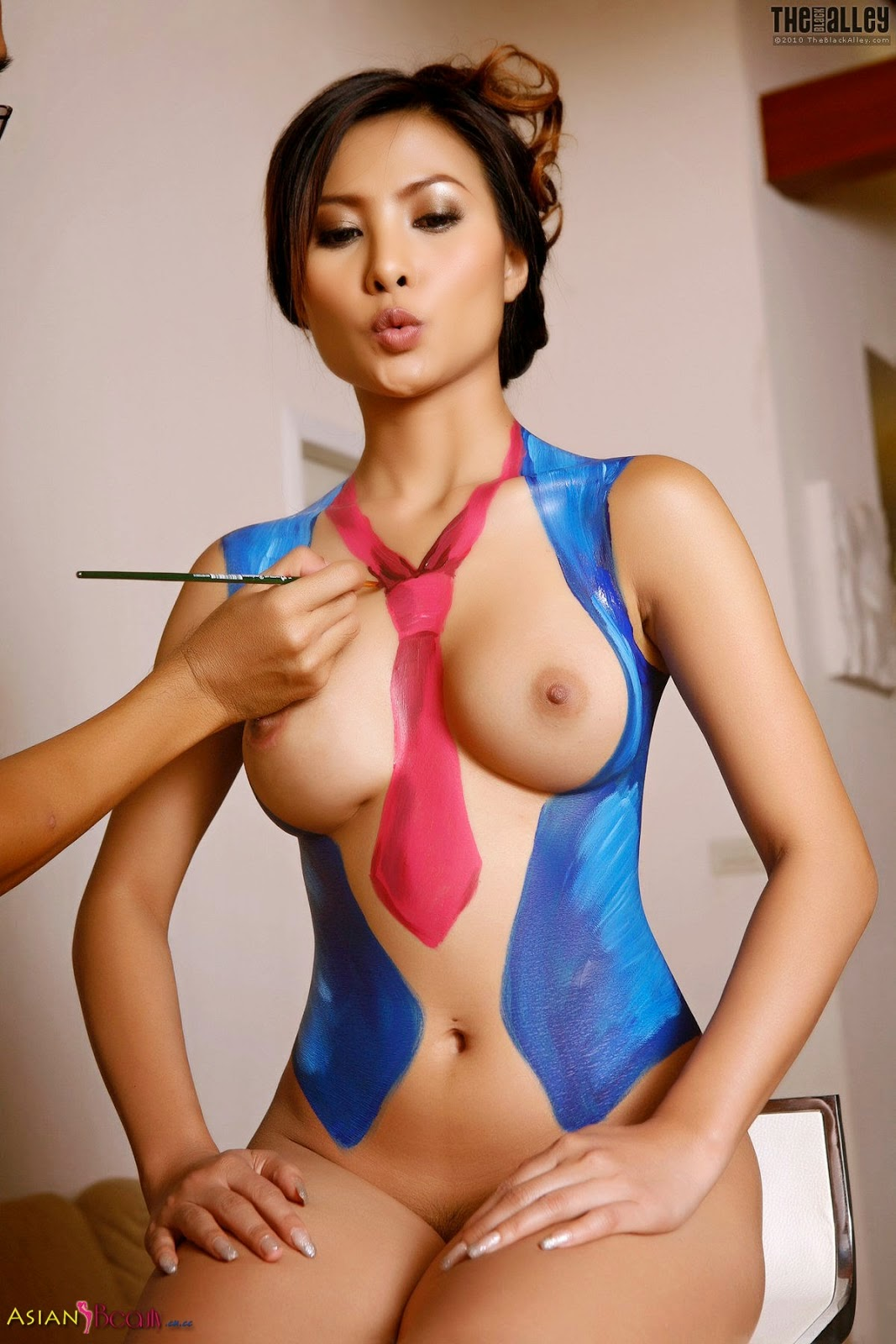 asian girl model naked