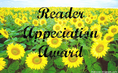 Reader Appreciation