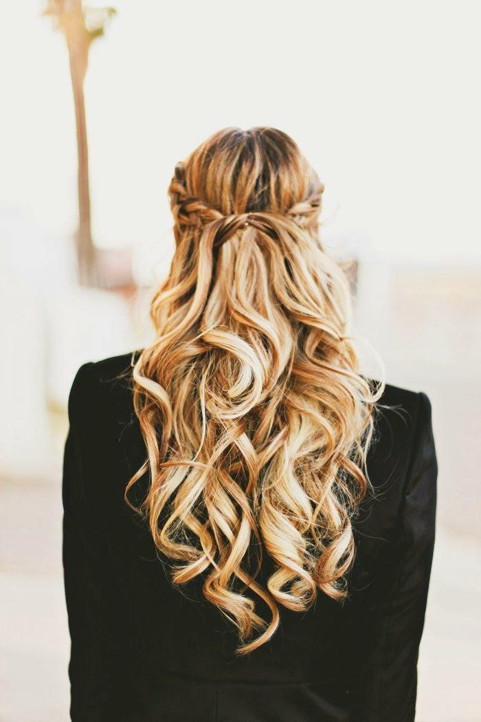 Причёска с накрученными волосами фото