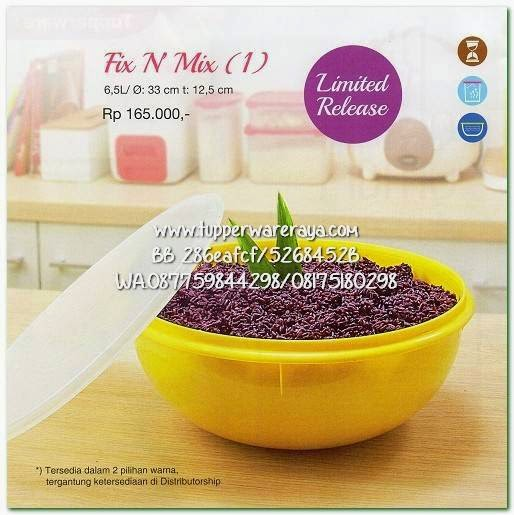 Tupperware Promo April 2015 Fix N Mix
