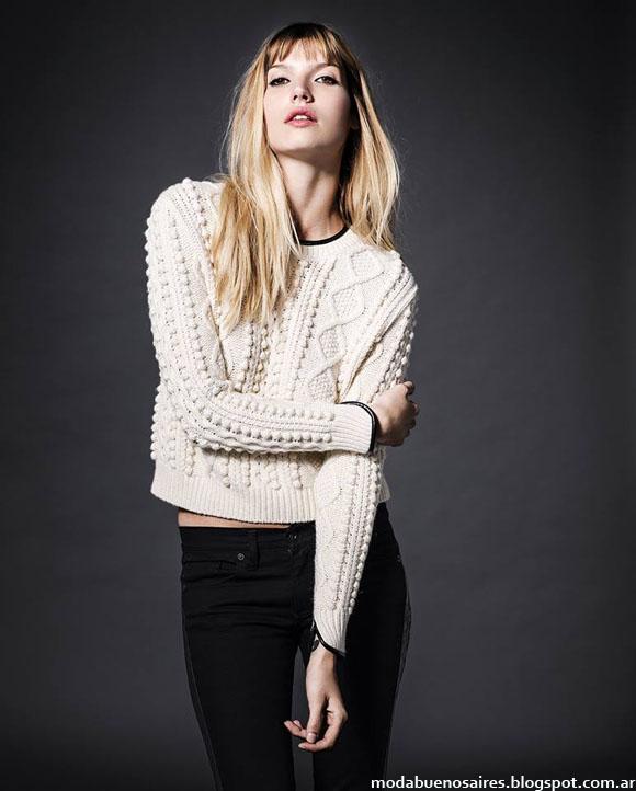 Sweaters otoño invierno 2014 mujer moda.