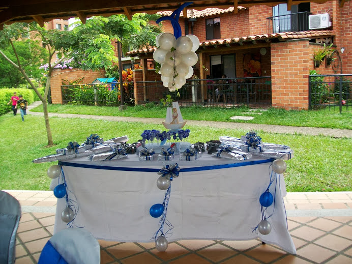 MESA  DECORADA   RIFAS