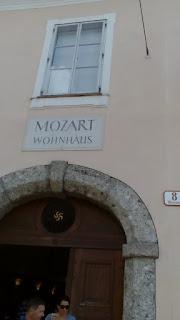 Casa în care a locuit Mozart