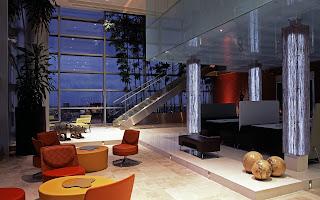 Estilo de sala futurista livingroom