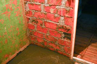 фото заливки пола в ванной комнате