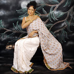 Yagna Shetty Saree Cute Pictures