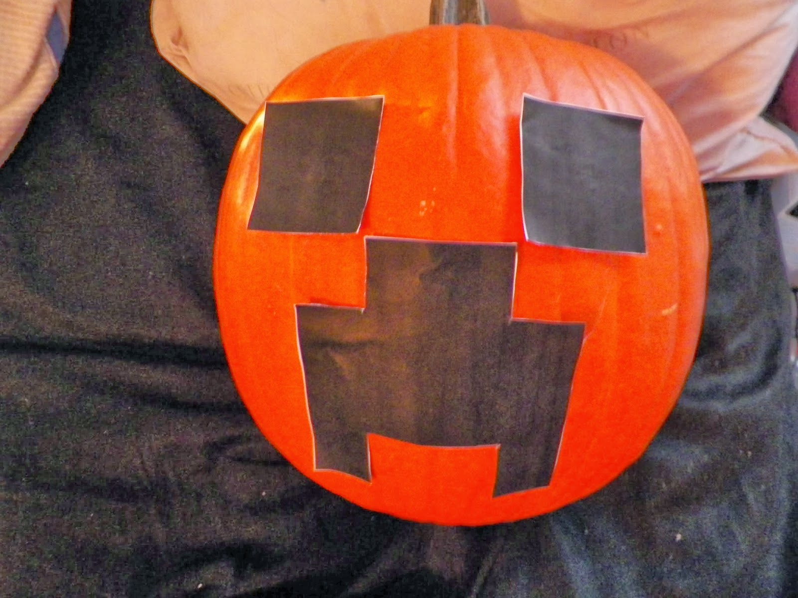 cassie u0027s creative crafts minecraft creeper pumpkin tutorial
