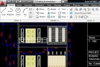 Jasa Drafting desain gambar teknis AutoCad Solidworks