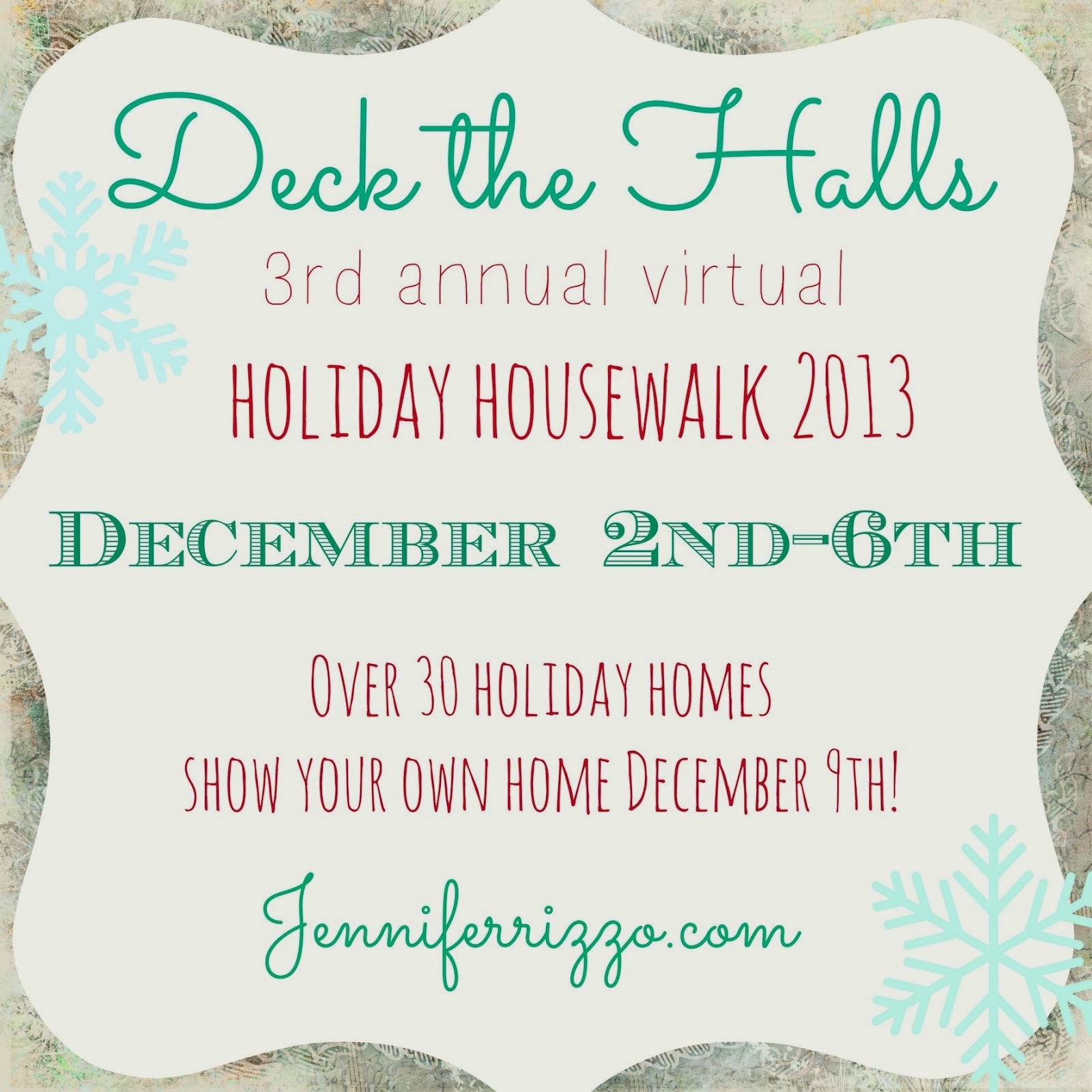 Deck the Halls Holiday House Walk