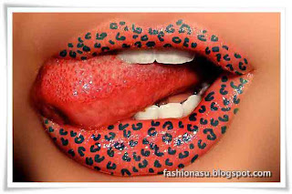 Teen's-Lips-Make-up-Trends-Fashion