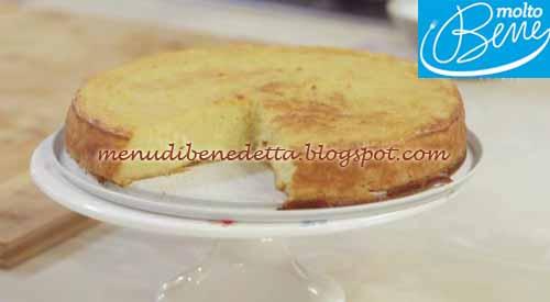 Torta di mele al cucchiaio ricetta Parodi per Molto Bene su Real Time