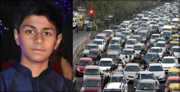 13-yr-old school boy has a Web solution to Delhi's odd even vehicle rules, 13-Year-Old Boy Designs A Carpooling Website, 13-year-old student tells you how to cope up with odd-even