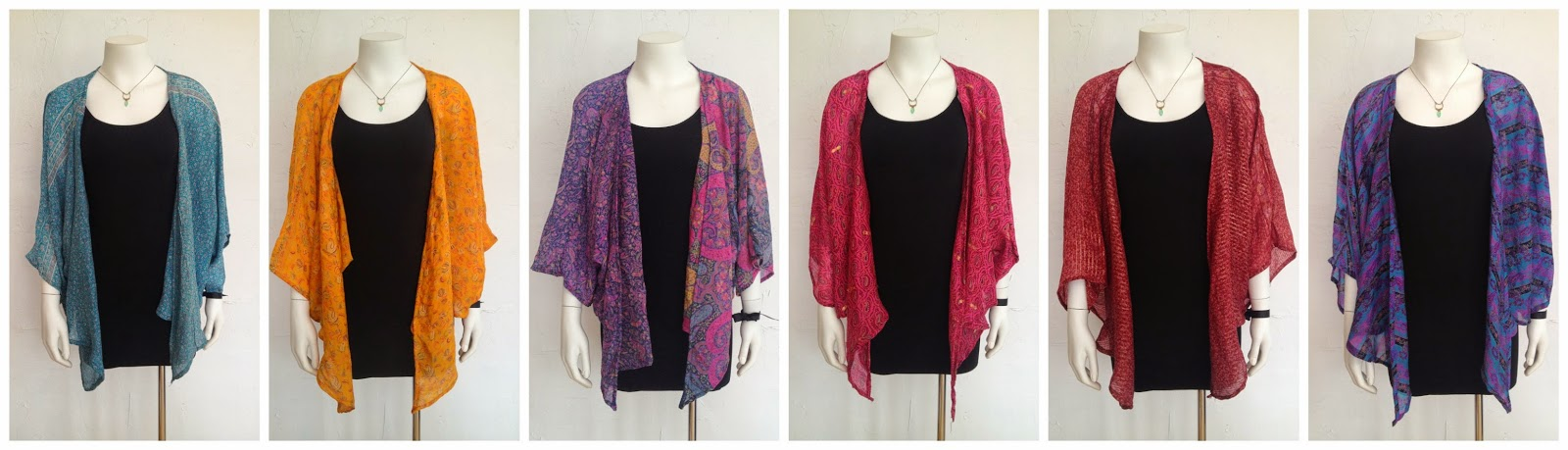 New Ronak Shrug by Indie Ella ($54), M Rena Slip (in store only), necklace by Amy Olson (in store only) at Folly