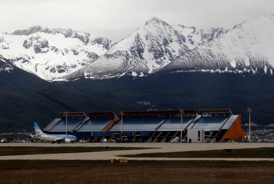 Aeroporto Ushuaia : Viagens viajar é preciso cruzeiro pela patagônia de