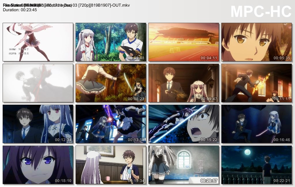 Kos Internet - Absolute Duo Episode 3 Sub English