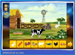 ANIMALES EN SU CASA