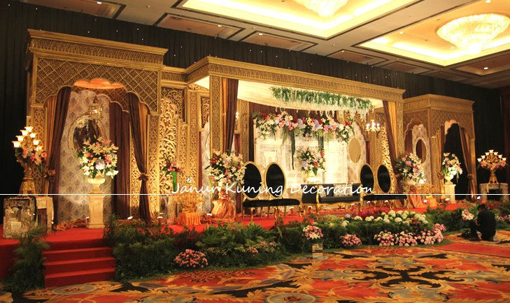 janur kuning decoration pelaminan international maroko