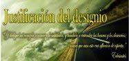 Justificación del designio