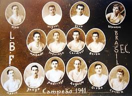 BRASIL: CAMPEÃO DA LBF 1941