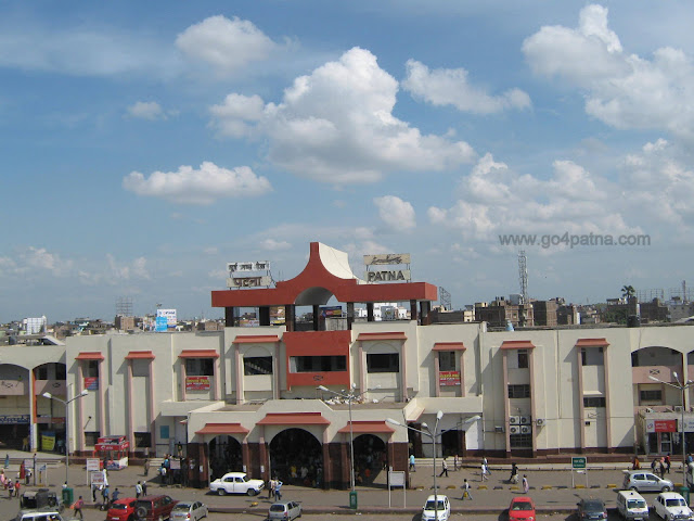 Patna Junction from Mahavir Mandir