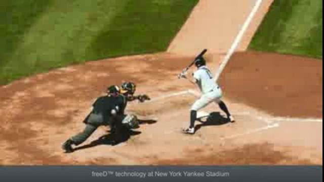 Baseball Matrice: nouvelle technologie de caméra utilisé pour le baseball au Yankee Stadium