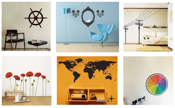 Wall Decals In Dorms : Dorm room decor wall decals typography and canvas