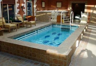simple swimming pool design idea backyard design idea