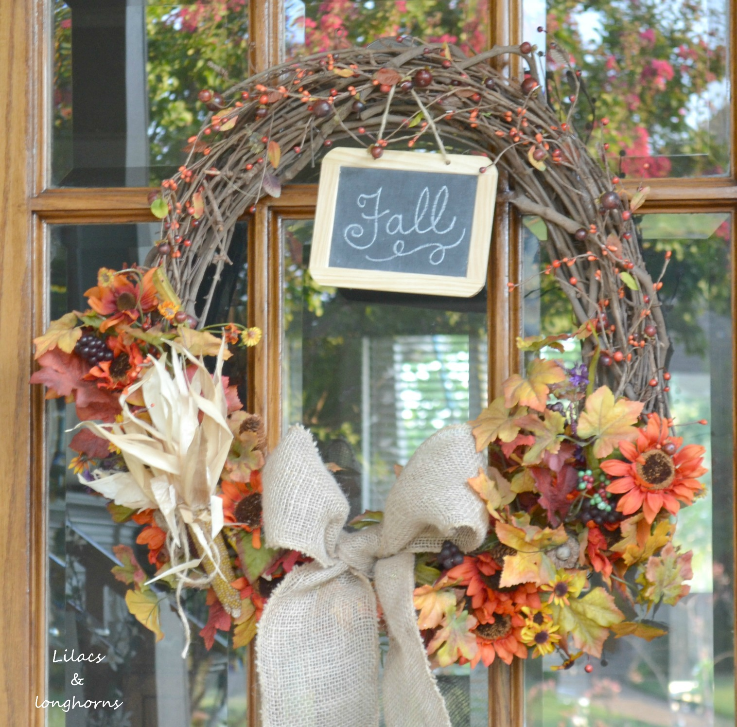 fall or halloween decor - Halloween And Fall Decorations