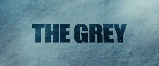 The Grey 2012 action drama survival film title starring liam neeson