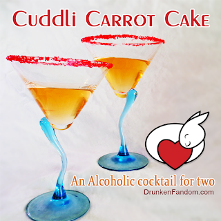 Cuddli Carrot Cake Martini