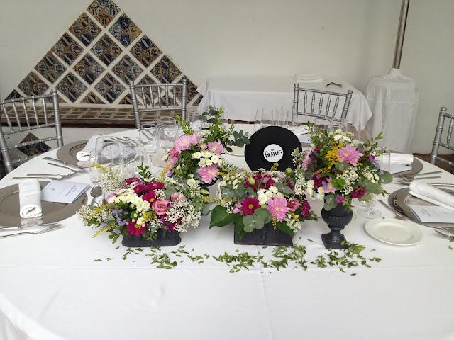 mesa presidencia boda
