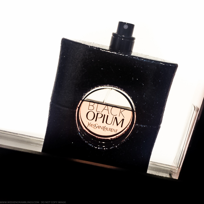 Perfume Review - YSL Black Opium Eau de Parfum Spray - Fall Winter Fragrance