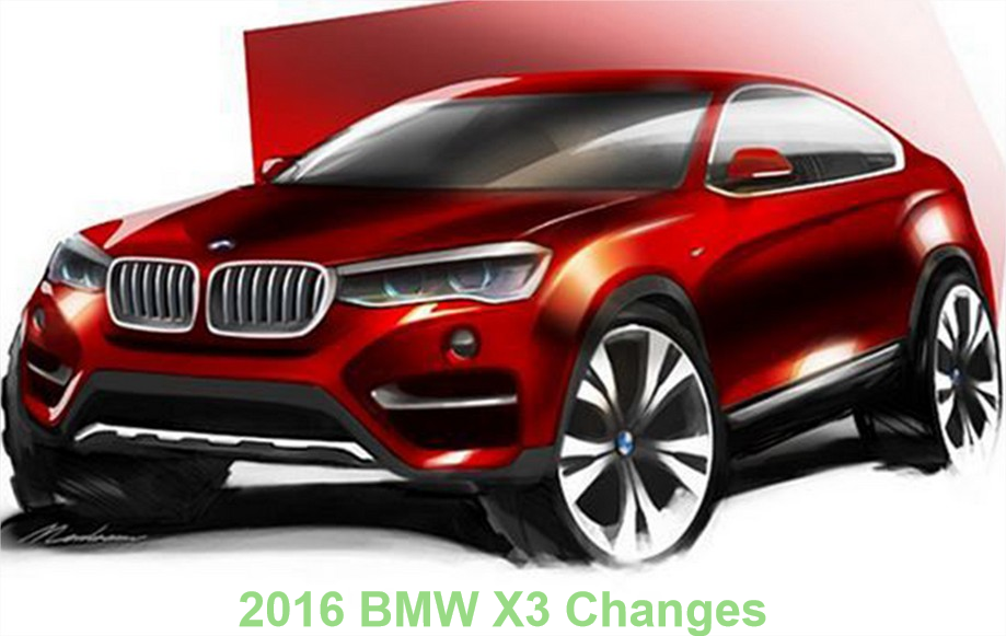 2016 bmw x3 changes xdrive35i sdrive28i x3 car junkie. Black Bedroom Furniture Sets. Home Design Ideas