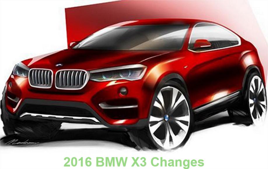 2016 bmw x3 changes xdrive35i sdrive28i x3 car junkie. Black Bedroom Furniture Sets. Home Design Ideas