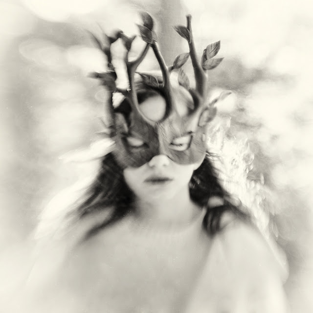 Деревья шепчут мое имя в черно-белых фотографиях Кэролайн Хэмптон