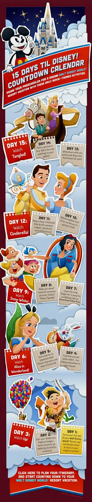 15 Day Disney Countdown