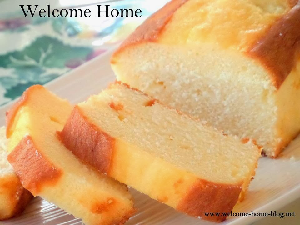 Make Pound Cake Without Butter