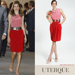 Queen Letizia Style Uterqüe SS 2011 Collection