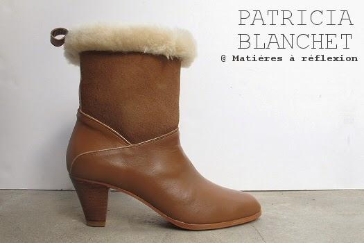 Boots Patricia Blanchet : Mémère fourrées
